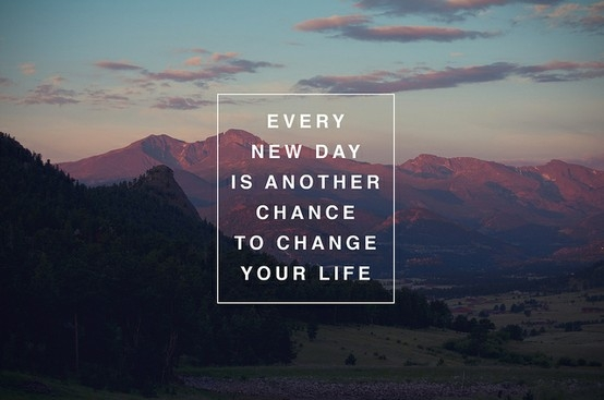never too late to change