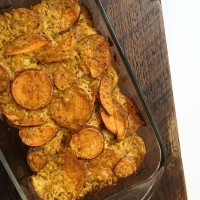 AIP/Paleo Sweet Potato Au Gratin