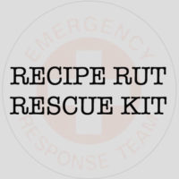 recipe rut rescue - boost creativity in the kitchen