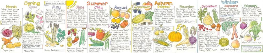 whats in season food