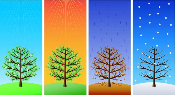four different seasons