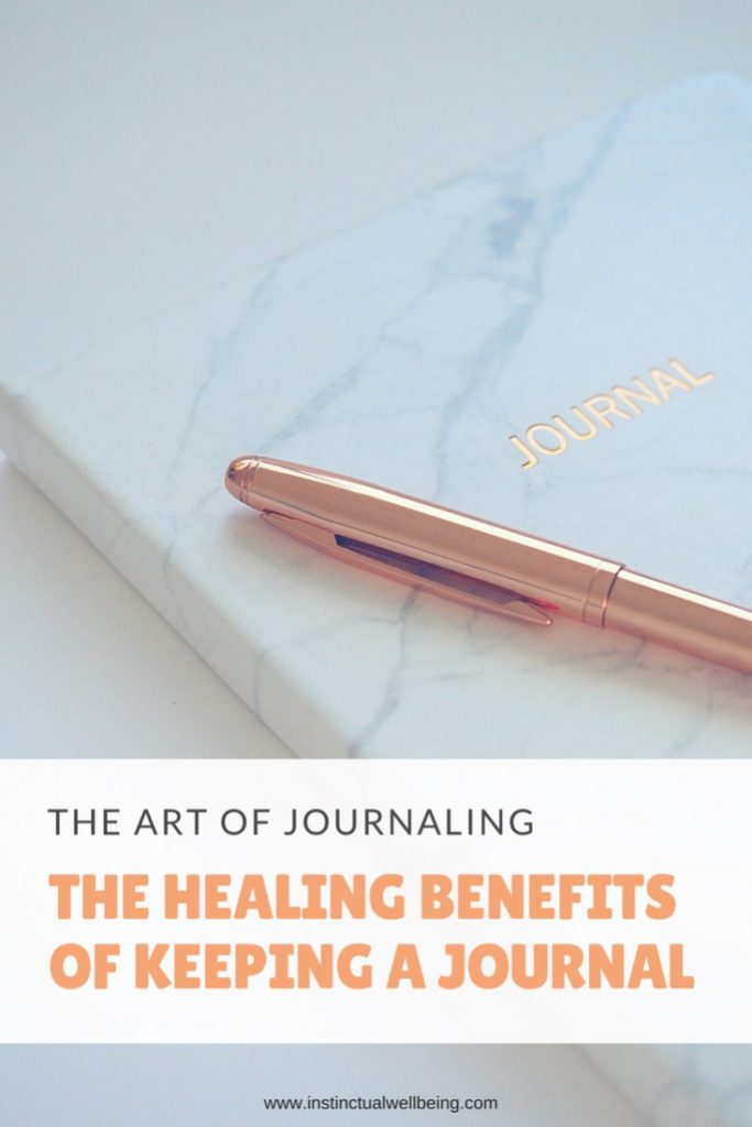 the art of journaling the healing benefits of keeping a journal iw